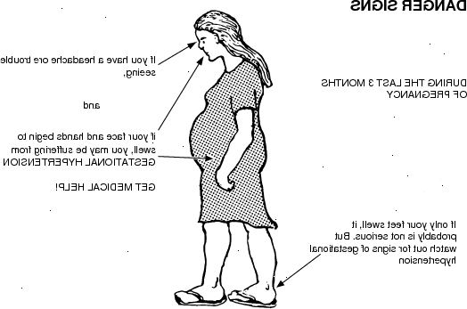 protein i urin gravid